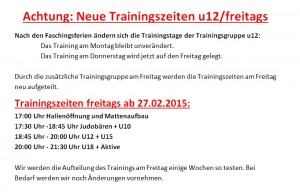 2015-02-02-neue Trainingszeiten