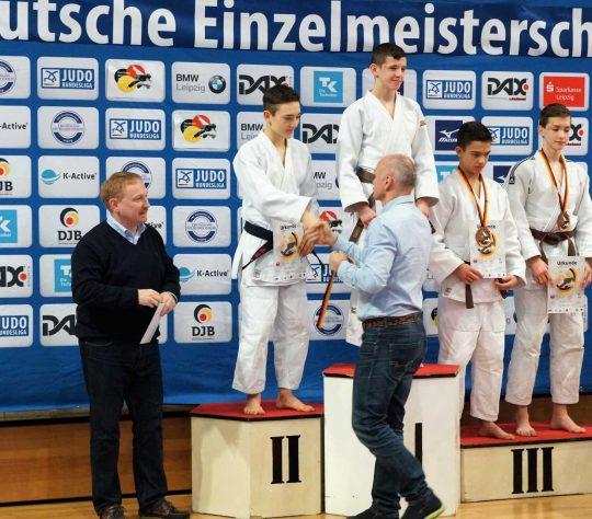 Valentin Hofgärtner ist Deutscher Vizemeister  u18!