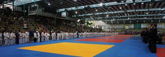 Internationales Judo Turnier im Glaspalast u11