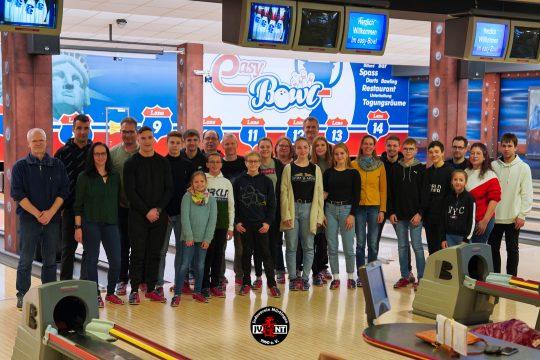 Jahresabschluss beim Bowling u18/u21 2019