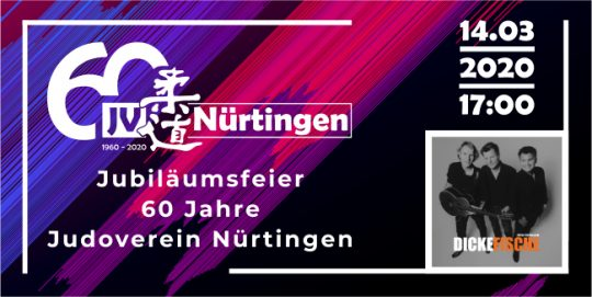 """Jubiläumsfeier """"60 Jahre JV Nürtingen"""""""